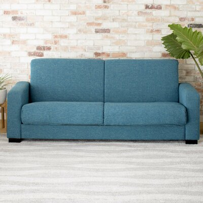 Greenacres Sleeper Sofa Upholstery: Blue