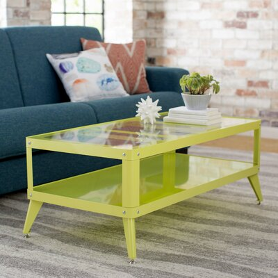Timycha Coffee Table Finish: Apple Green