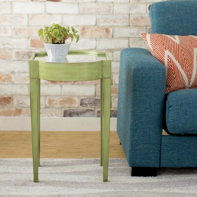 Strattanville Chairside Table Finish: Green