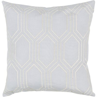 Byrom 100% Linen Throw Pillow Cover Size: 18 H x 18 W x 1 D, Color: BlueGray
