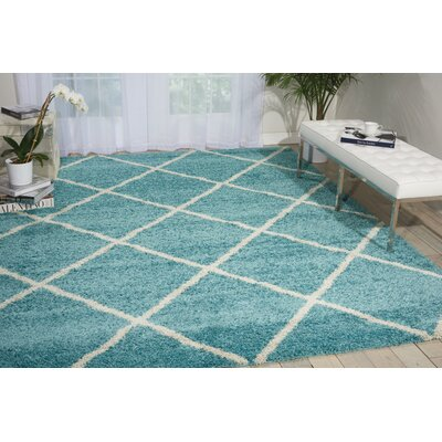 Psyche Light Blue Area Rug Rug Size: 82 x 10