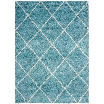 Psyche Light Blue Area Rug Rug Size: Rectangle 5 x 7