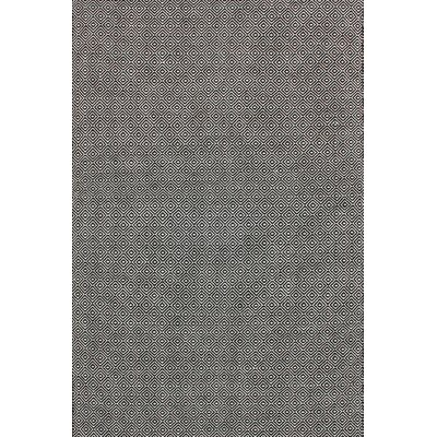Malbrough Hand-Woven Black Area Rug Rug Size: 5 x 8