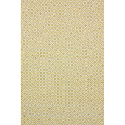 Malbrough Hand-Woven Ming Yellow Area Rug Rug Size: 5 x 8