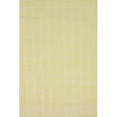 Malbrough Hand-Woven Ming Yellow Area Rug Rug Size: 8 x 10