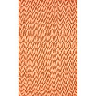 Malbrough Orange Area Rug Rug Size: 8 x 10