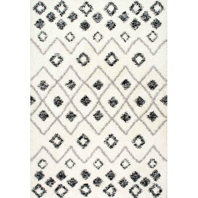 Patchin Beige Area Rug Rug Size: Rectangle 53 x 76