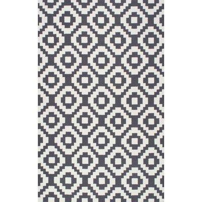 Nolan Black Geometric Area Rug Rug Size: Runner 26 x 8