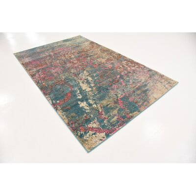 Cherry Street Gray Area Rug Rug Size: Rectangle 7 x 10