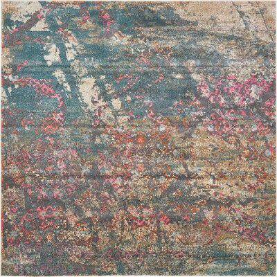Cherry Street Gray Area Rug Rug Size: Square 8