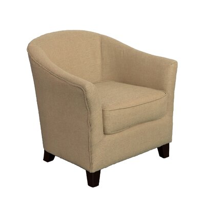 Camryn Barrel Chair Upholstery: Beige