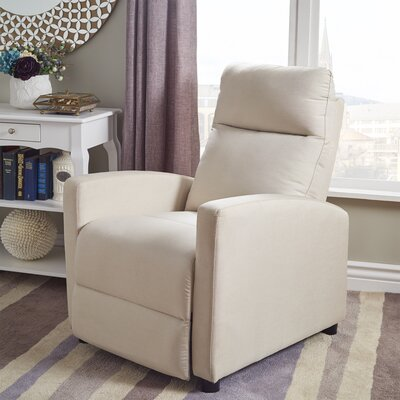 Childs Manual Recliner Upholstery: Beige