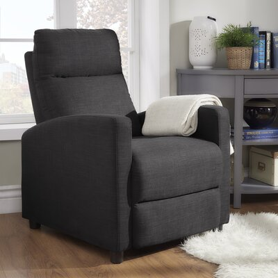 Childs Recliner Upholstery: Dark Gray