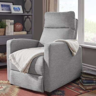 Childs Manual Recliner Upholstery: Gray