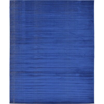 Risley Navy Blue Area Rug Rug Size: 8 x 10