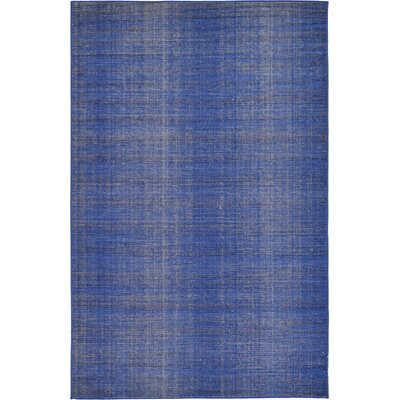 Risley Navy Blue Area Rug Rug Size: Rectangle 5 x 8