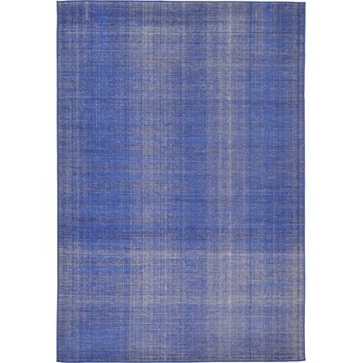Risley Navy Blue Area Rug Rug Size: Rectangle 6 x 9