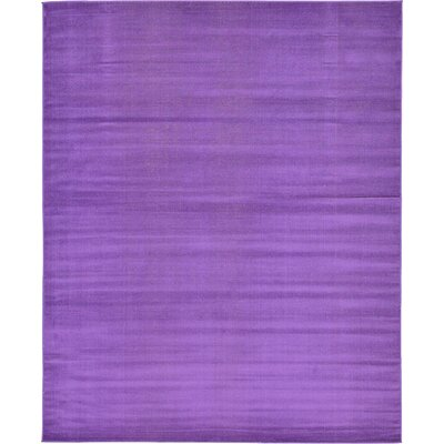 Risley Violet Area Rug Rug Size: Rectangle 6 x 9