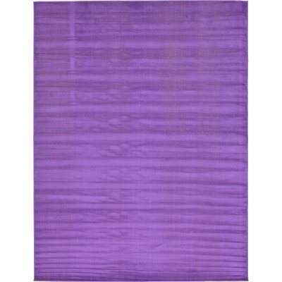 Risley Violet Area Rug Rug Size: Rectangle 9 x 12