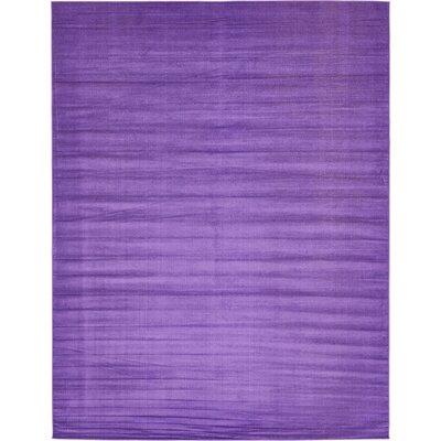 Risley Violet Area Rug Rug Size: 10 x 13