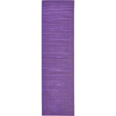 Risley Violet Area Rug Rug Size: Runner 29 x 910