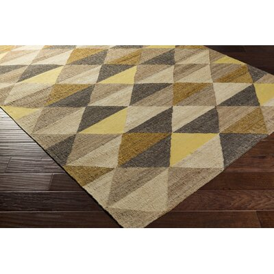 Vasta Hand-Woven Area Rug Rug size: Rectangle 3'3