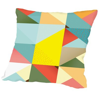 Pattern6 Outdoor Throw Pillow Size: 16 H x 16 W x 2 D