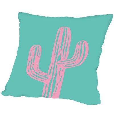 Cactus Outdoor Throw Pillow Size: 16 H x 16 W x 2 D