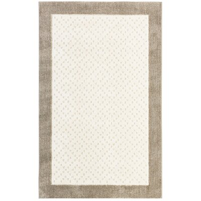 Braydon Beige Area Rug Rug Size: Rectangle 34 x 56
