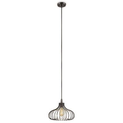 Beaton 1-Light Foyer Pendant Size: 9.7 H  x 12 W x 12 D