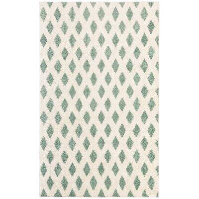 Norvell Beige/Green Area Rug Rug Size: 8 x 10