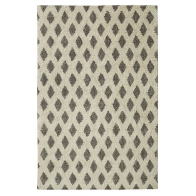Norvell Beige/Gray Area Rug Rug Size: Rectangle 5 x 8