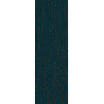 Romola Geometric Teal Area Rug Rug Size: Rectangle 33 x 53