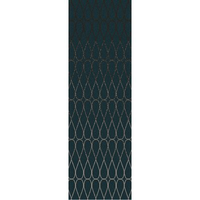 Romola Geometric Taupe/Teal Area Rug Rug Size: Rectangle 5 x 8
