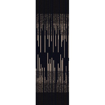 Mckay Navy Area Rug Rug Size: Rectangle 5 x 8