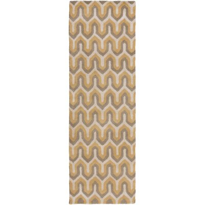 Romola Mocha Geometric Area Rug Rug Size: Rectangle 2 x 3