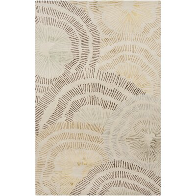 Romola Beige Area Rug Rug Size: Rectangle 2 x 3