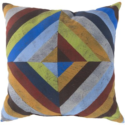 Hisey Charm in Color and Shape Outdoor Throw Pillow Size: 18 W x 18 D