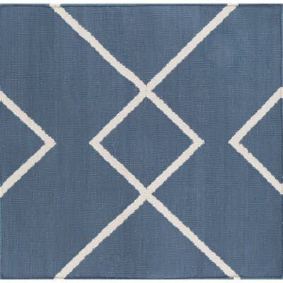 Smyth Slate/Ivory Area Rug Rug Size: Rectangle 5 x 76