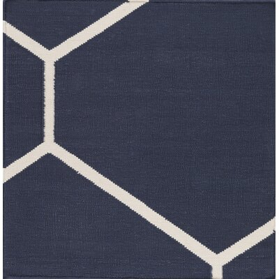 Smyth Navy/Ivory Area Rug Rug Size: Rectangle 9 x 13