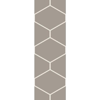 Smyth Taupe/Ivory Area Rug Rug Size: Rectangle 5 x 76