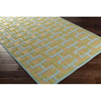 Fallis Indoor/Outdoor Area Rug Rug size: 5 x 76