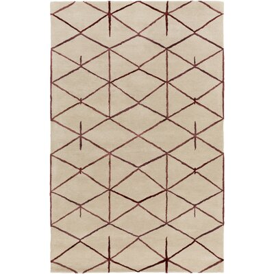 Romola Hand-Tufted Area Rug Rug size: Rectangle 8 x 11