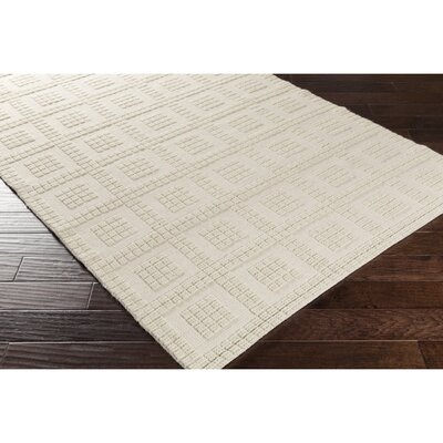 Veach Hand-Woven Neutral Area Rug Rug Size: Rectangle 2 x 3