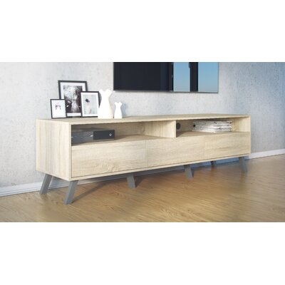 Chamber 70 TV Stand Color: Oak