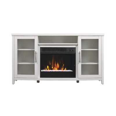 Byas TV Stand with Electric Fireplace