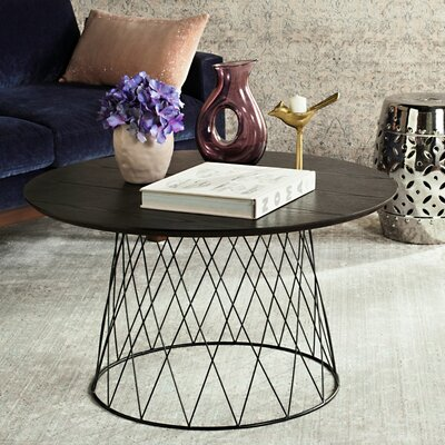 Brickey Coffee Table Finish: Black