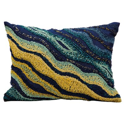 Michelle Blue/Yellow Lumbar Pillow