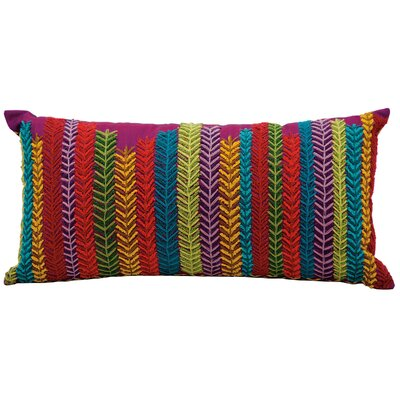 Michelle Red/Yellow/Blue Lumbar Pillow