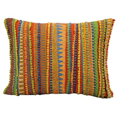 Michelle Yellow/Red/Green Lumbar Pillow